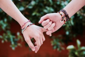 Friendship | holding hands